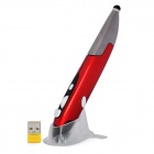 Promi PR-06 2.4GHz Wireless Internet Surfing Browsing Stylus Pen - Black + Red (1 x AAA)
