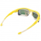 OPOLLY OP105 Polarization Cycling PC Lens TR90 Frame Sunglasses w/ Replacement Lens - Yellow