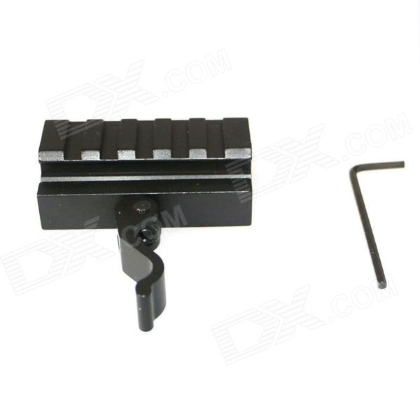 ACCU New Quick Release Heighten Mount for 20MM Rifle Weaver Rails - Black