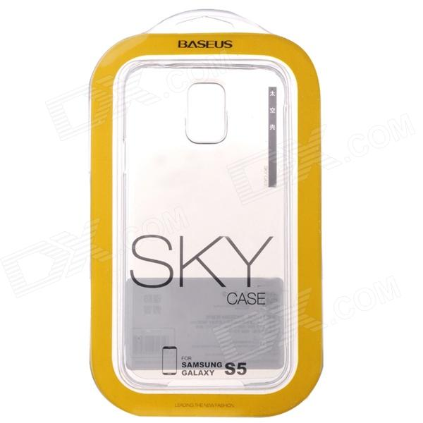 Baseus SKY Protective PC Back Case for Samsung Galaxy S5 - Transparent White