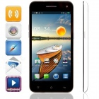 "KICCY 6.9mm Ultra-thin Quad-core Android 4.2 WCDMA Bar Phone w/ 5.0"" IPS, Wi-Fi, GPS, OTG - White"