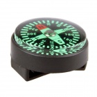 New Edition Big Compass with PU Watch Buckle - Black + Green (10PCS)