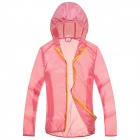WindTour WT13514 Women's Outdoor Sports Sunblock Chinlon Jacket - Pink (M)