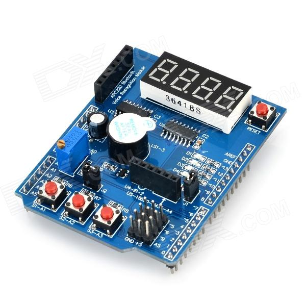 Diy multi function shield expansion board for arduino