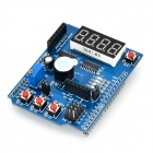 DIY Multi-function Shield Expansion Board for Arduino (Works with Official Arduino Board)