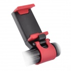 Multifunction Fitted Seat Car Steering Wheel Mobile Phone Holder / Navigation Frame - Black+Red