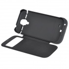 3200mAh Rechargeable Battery Power Case for Samsung Galaxy S4 / i9500 - Black