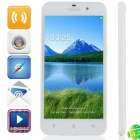 "Mijue M10C MTK6582 Quad-Core Android 4.2.2 WCDMA Bar Phone w/ 5.0"" IPS HD, OTG, 4GB ROM, GPS - White"