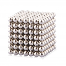 Magnetic Balls Beads Cube Puzzle Neocube Intelligence Toy (3mm,343PCS)