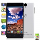 "XiaoCai X9+ MTK6582 Quad-Core Android 4.2 WCDMA Bar Phone w/ 5.0"" OGS, HD, 1GB RAM, 4GB ROM - White"