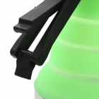 Portable Fold-up Stainless Steel + Silicone Kettle - Green