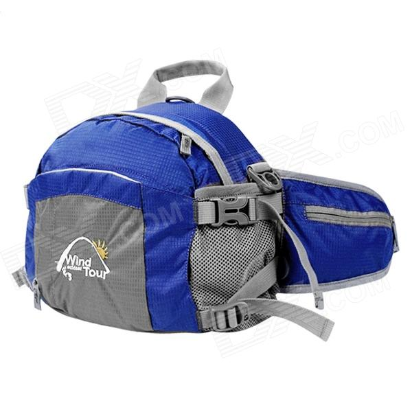 Wind Tour WTXKYB Multifunctional Oxford Fabric Outdoor 4-in-1 Waist Bag / Satchel - Blue (20L) bigbang 2012 bigbang live concert alive tour in seoul release date 2013 01 10 kpop