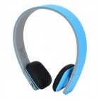 LC-8300 MP3 + FM + Voice Recorder + Card Reader Multifunctional Headband Earphone - Sky Blue + Grey