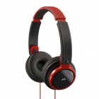 JVC HAS200R Riptidz High Quality Headphones (Red)