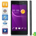 "Z1 MTK6582 Quad-Core Android 4.2.2 WCDMA Bar Phone w/ 5.0"" IPS, 1GB RAM, 8GB ROM, FM, GPS - Black"