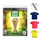 PS3 EA Sports 2014 FIFA World Cup Brazil With Limited Football Shirt - PlayStation 3