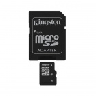 Kingston 32GB microSDHC Class 10 Flash Memory Card with SD Adapter