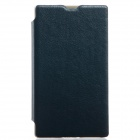 KALAIDENG Protective PU Leather Case Cover Stand for NOKIA X - Black