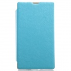 KALAIDENG Protective PU Leather Case Cover Stand for NOKIA X - Blue