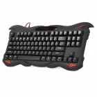 AULA ELKX01 USB Wired 87-Key Gaming Keyboard - Black
