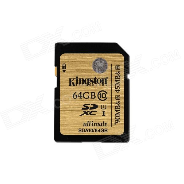 Kingston Ultimate SDXC 64GB UHS-I Class 10 Read:90MB/s Write: 45MB/s SDA10/64GB