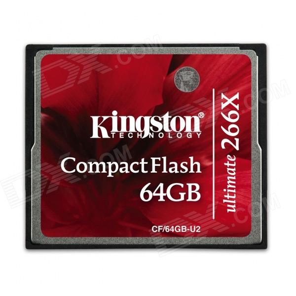 Kingston CF / 64GB-U2 Tarjeta de memoria CompactFlash Ultimate 266x