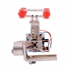 HJ 2-Axis Camera Brushless Gimbal PTZ w/ BGC3.1 2-Axis Gimbal Controller for GoPro 1/2/3 FPV -Golden