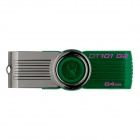 Kingston Digital 64GB DataTraveler 101 G2 USB 2.0 Drive Green DT101G2/64GB