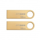 Kingston Digital 16GB DataTraveler GE9 USB 2.0 Drives DTGE9/16GB (2PCS)