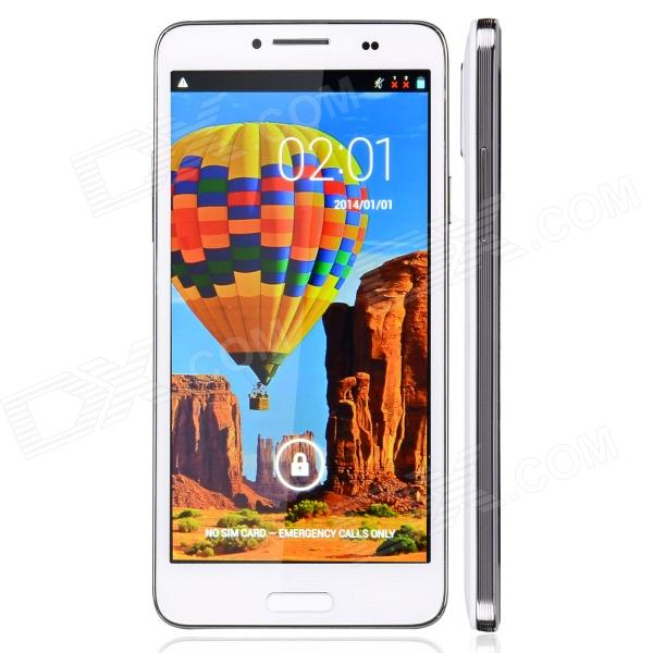 "MP-N9950 Capacitive Touch Screen Android 4.2 Bar Phone w/ 5.0"" IPS / Bluetooth / Wi-Fi - White"