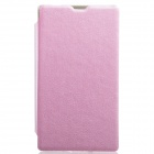 KALAIDENG Protective PU Leather Case Cover Stand for NOKIA X - Pink
