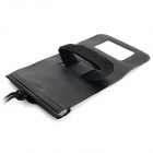 WP031 Waterproof Protective PVC Bag for Mobile Phone - Black