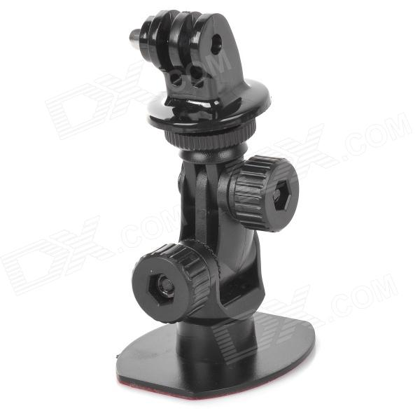 GP107 Mini 3M Stickers Windshield Dashboard Bracket with Tripod Adapter for Gopro Hero 4/ HD 3+/3/2