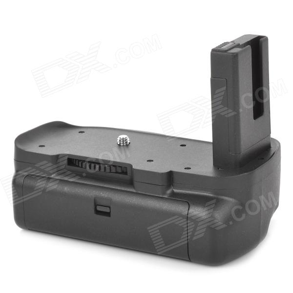 Commlite Vertical Camera Battery Grip for Nikon D5100, D5200, D5300 - Black new vertical battery grip pack 2x en el14 decoded battery for nikon d3100 d3200 d3300 camera 2 step shutter free shipping