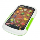 Yiqu YQ6605 3D Consola Touch Game Fruit - blanco + verde (3 x AA)