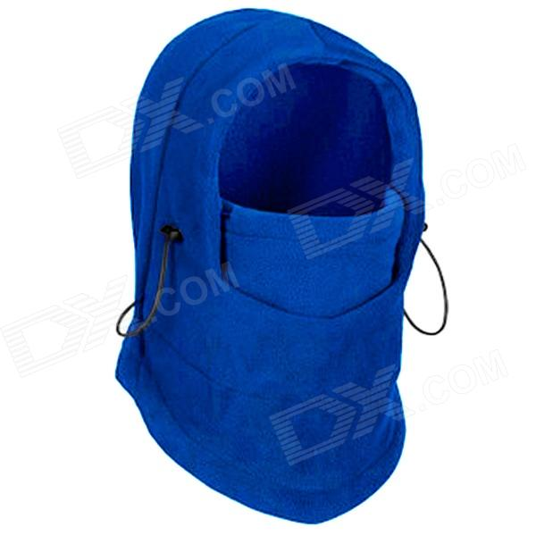 GUZON Outdoor Sports Windproof Warm Polar Fleeces Face Mask / Hat - Blue (Free Size)