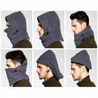 WindTour WT111220 Outdoor Cycling Warm Polar Fleeces Hat / Face Mask for Men - Grey (Free Size)