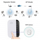 300Mbps Wireless 802.11b/g/n Wi-Fi Router WLAN Repeater Red Range Expander (enchufe de EE.UU.)