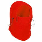 GUZON 123 Outdoor Sports Windproof Warm Polar Fleeces Face Mask / Hat - Red (Free Size)