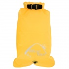 WindTour Multifunction Outdoor Waterproof Drifting Bag / Storage Bag - Yellow (22L)