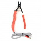 HT Electrical Cutting Nippers Cutter Plier - Red + Black