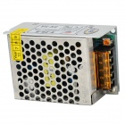 BTY S-25-5 Iron Case 5V 5A Power Supply - Silver White + Black (AC 110~240V)