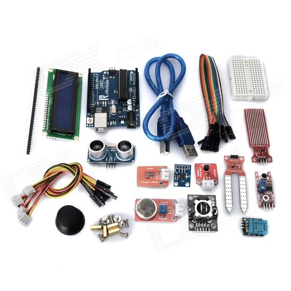 Analog Demonstration UNO R3 Control Module Kit (Works with Arduino Official Boards)