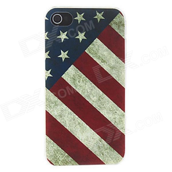 Kinston Vintage American Flag Pattern Matte Designed PC Hard Case for IPHONE 4 / 4S - Blue + RedPlastic Cases<br>Form ColorBlue + Red + Multi-ColoredBrandKinstonModelkst01217Quantity1 DX.PCM.Model.AttributeModel.UnitMaterialPlasticShade Of ColorMulti-colorCompatible ModelsIPHONE 4,IPHONE 4SDesignMixed Color,GraphicStyleBack CasesOther FeaturesProtects your device from scratches, dust, shock and abrasionPacking List1 x Protective case<br>