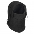 WindTour WT111220 Men's Fleece Thicken CS Head Guard Shield Cap - Black