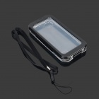Protective Plastic Waterproof Full Body Case w/ Strap for IPHONE 5 / 5S - Black