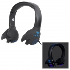 AULA WB-006 3.5mm Wired Gaming Headphones Headset w/ Microphone - Black (194cm)