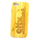 City Pattern Detachable Protective Bamboo Back Case for IPHONE 5 / 5S - Yellow