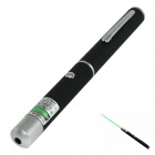 Marsing LD-02 5mW 532nm 8000M Green Laser Pointer Pen - Black + Grey White (2 x AAA)