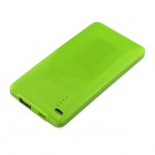 BOCHANG K-4 4000mAh Super Slim External Battery Charger for IPHONE / Samsung + More - Green